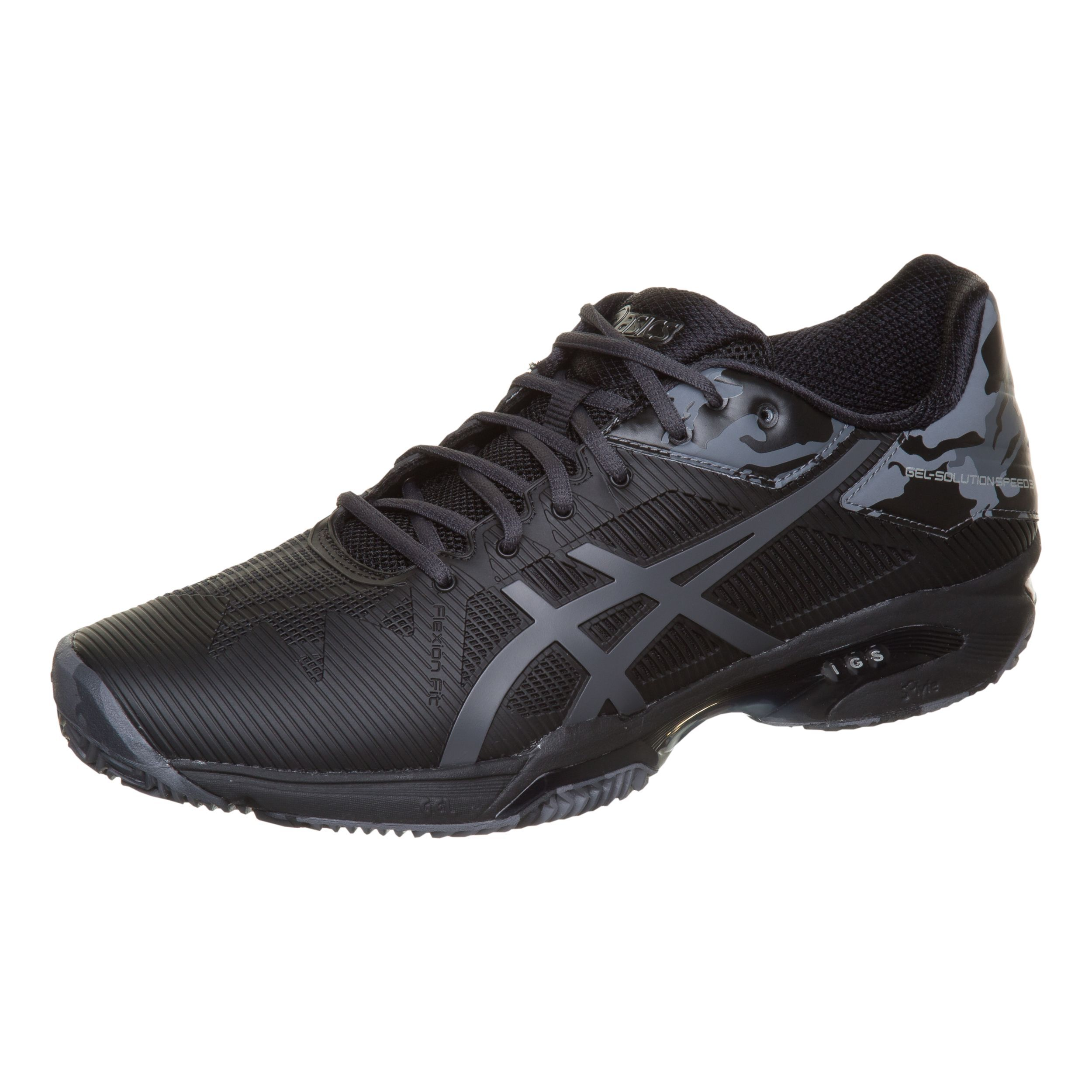 Asics Gel Solution Speed 3 Clay L.E. 2018 schwarz