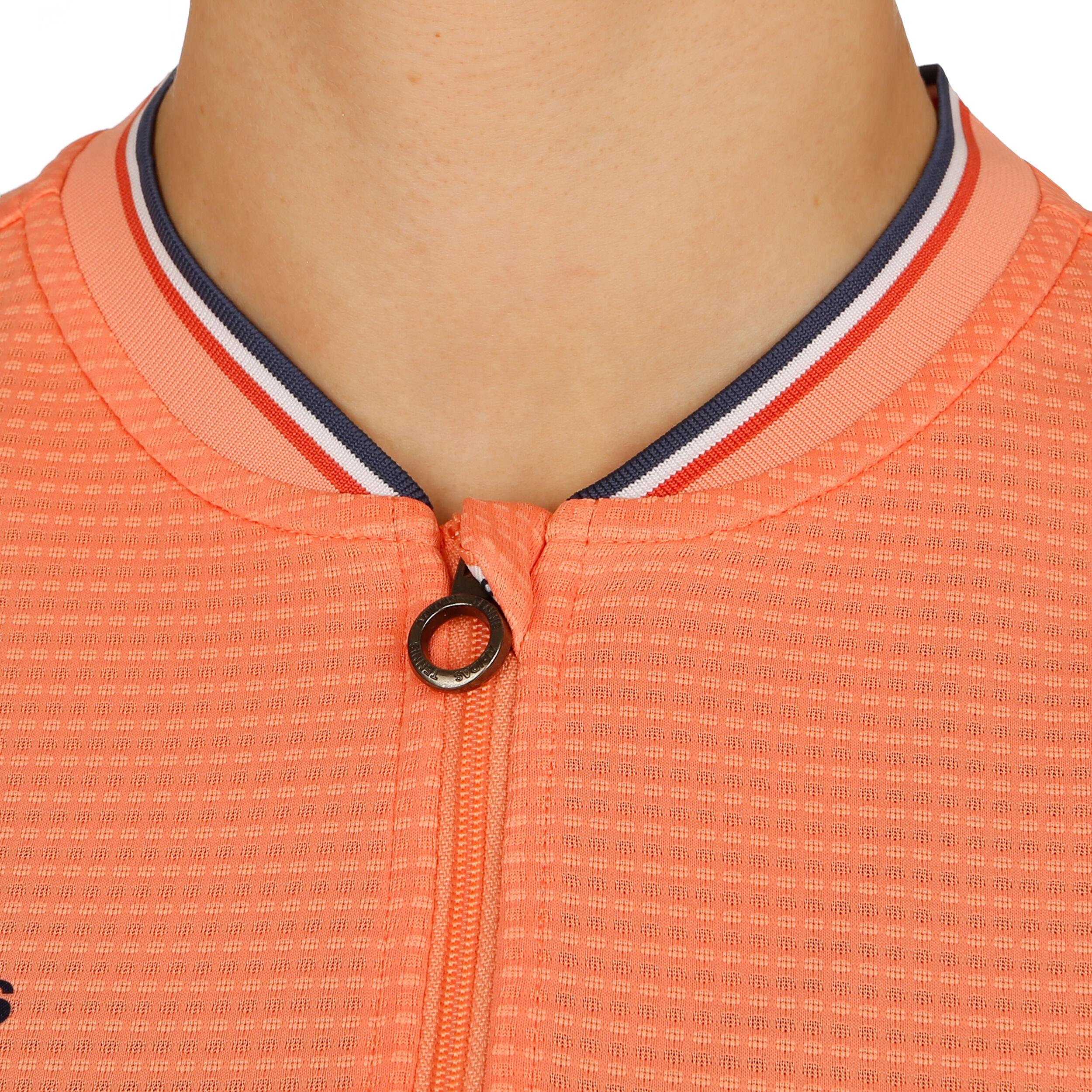adidas Roland Garros Ballgirls Polo Damen Orange