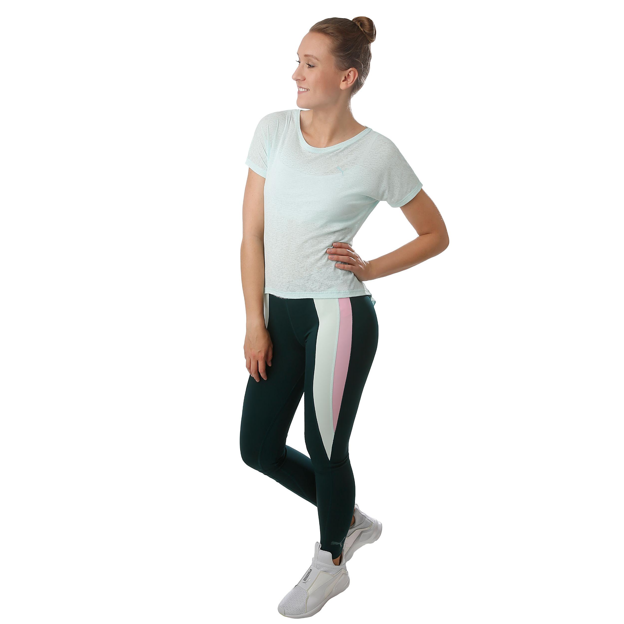 Puma Bold T Shirt Damen Mint, Silber online kaufen