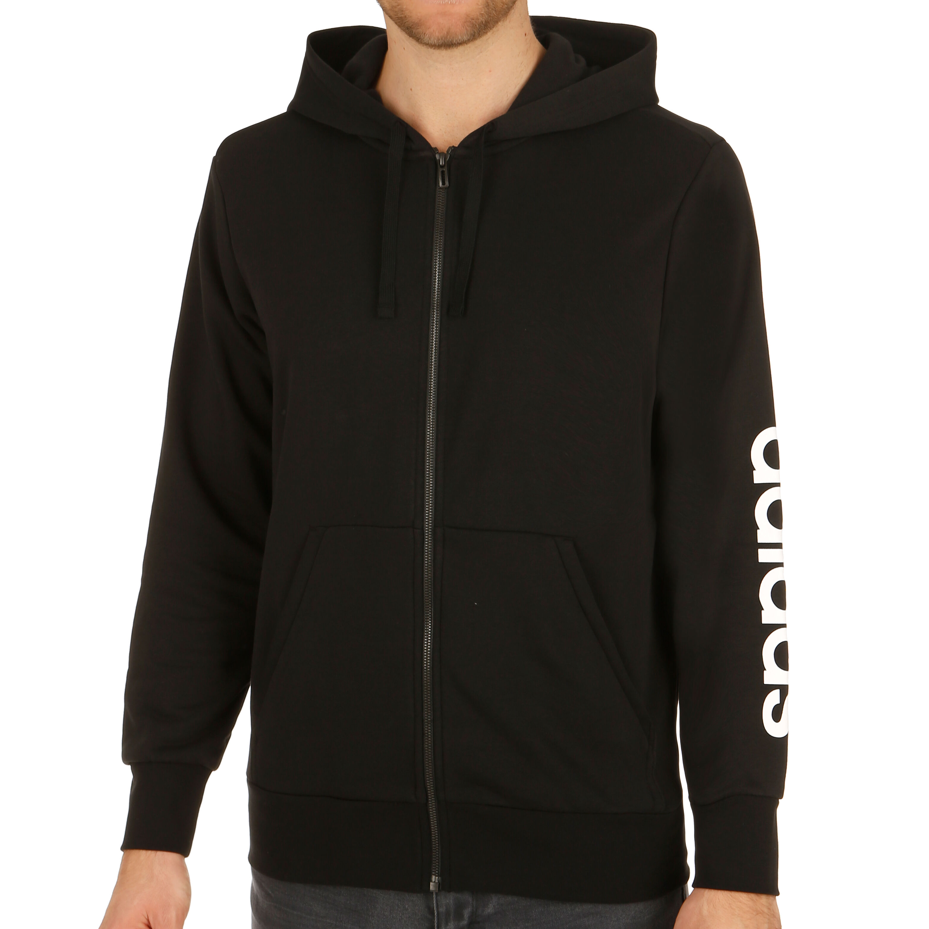 adidas Linear Full Zip French Terry Trainingsjacke Herren