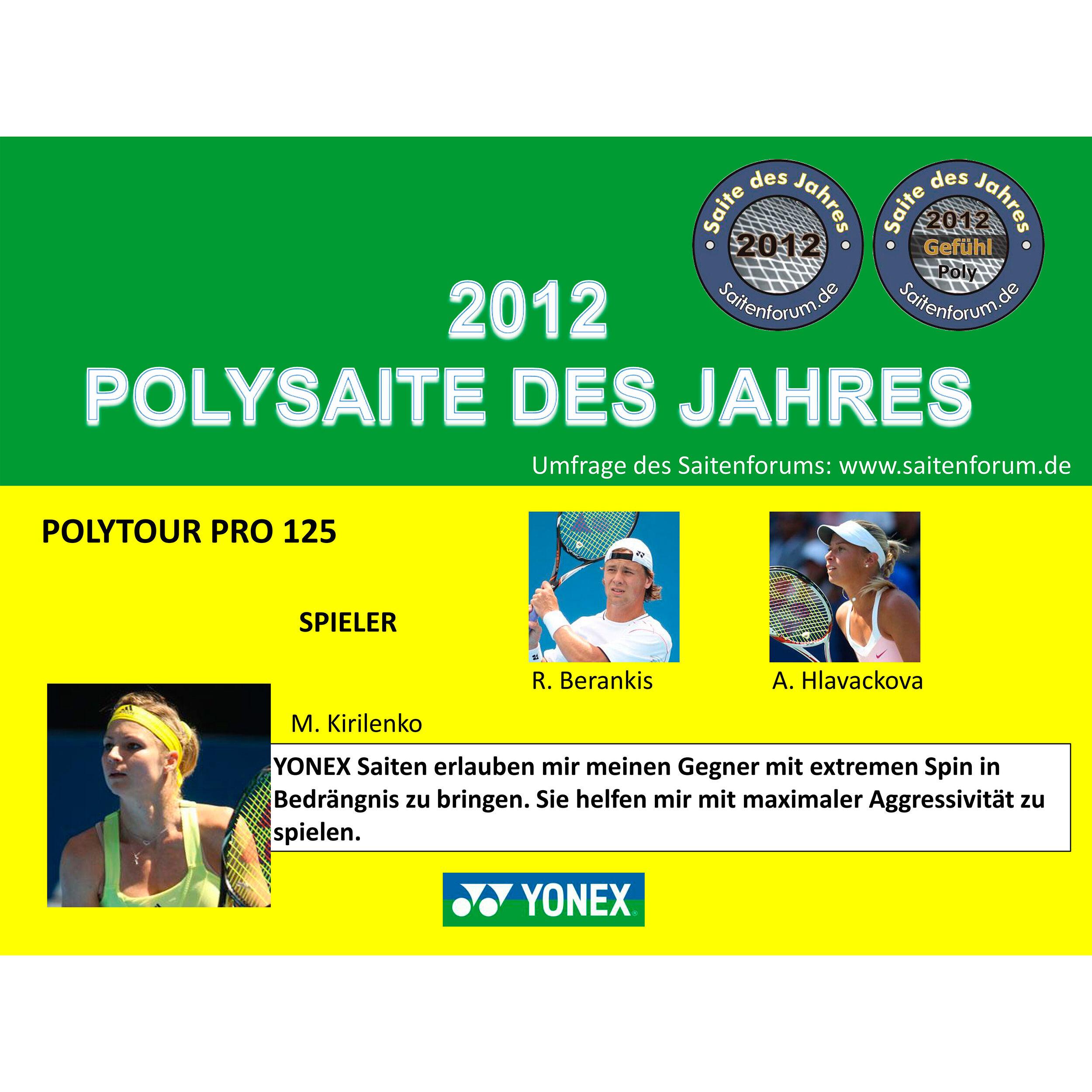 Yonex Poly Tour Pro Saitenset 12m Gelb online kaufen