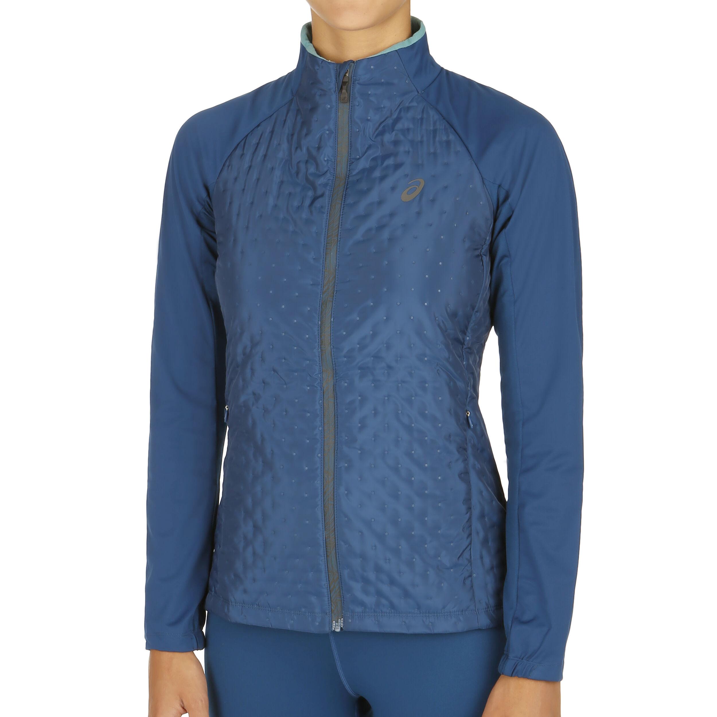Asics Hybrid Trainingsjacke Damen Dunkelblau online kaufen