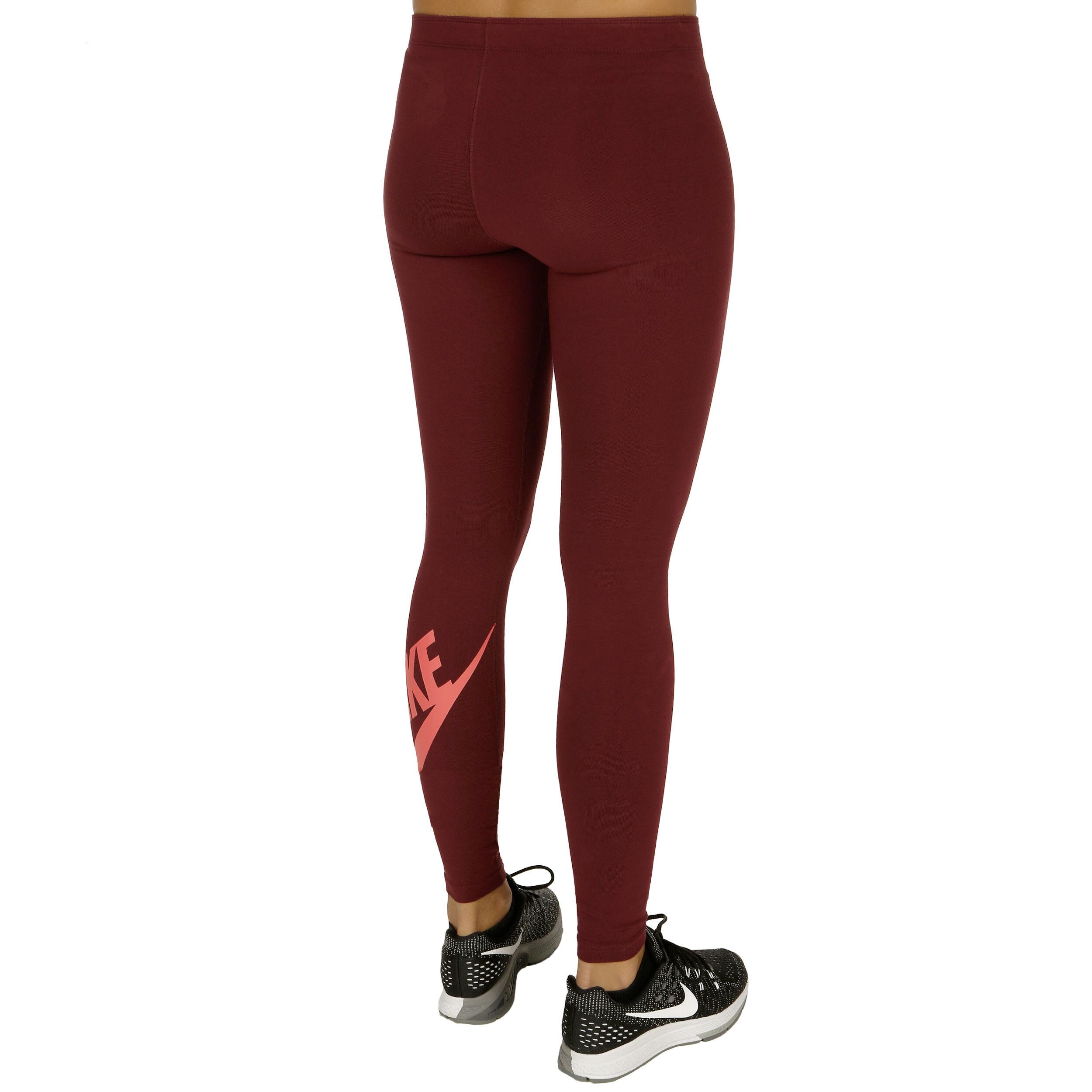 Nike Leg A See Logo Tight Damen Dunkelrot, Orange online