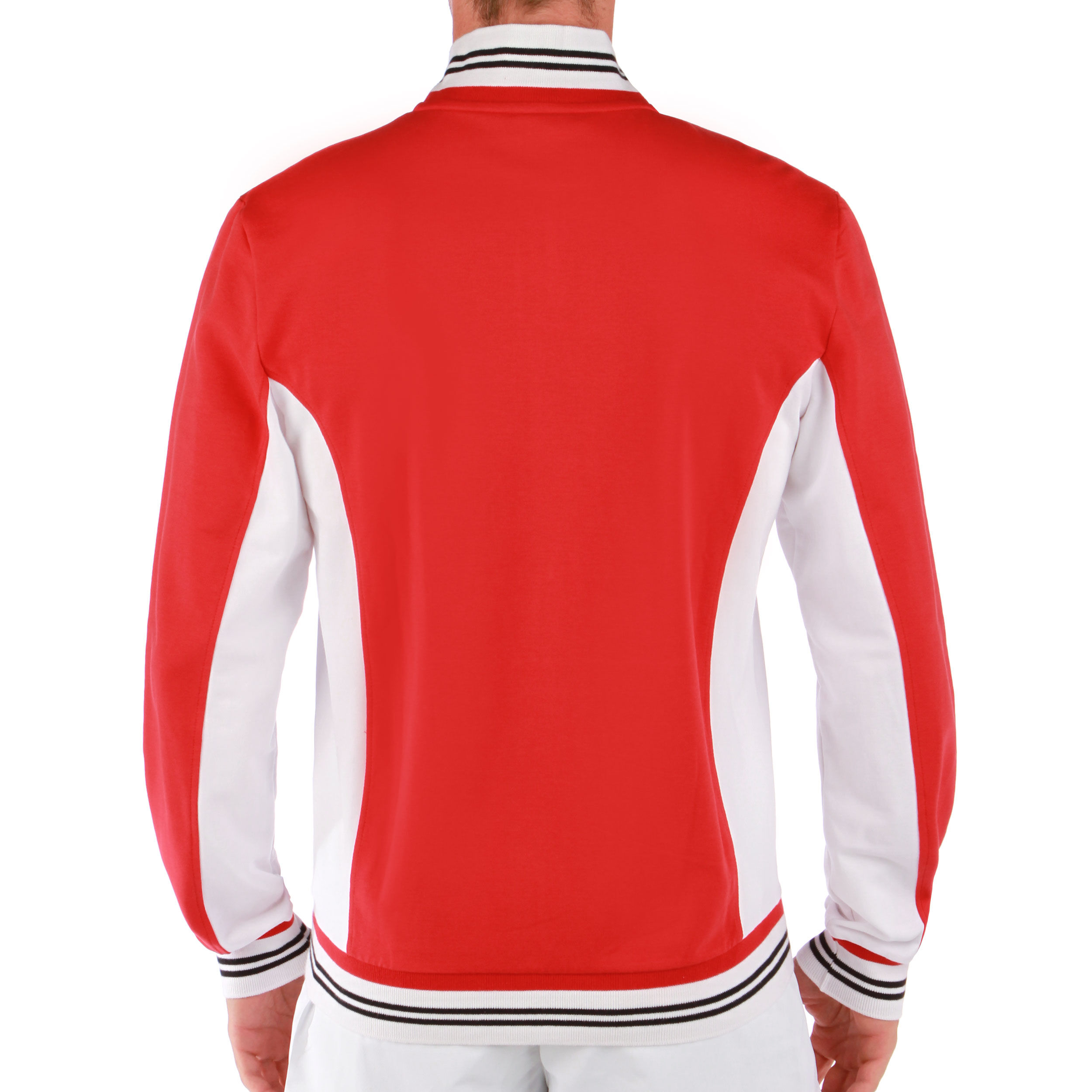 Fila Jacket Ole Trainingsjacke Herren Rot, Weiß online