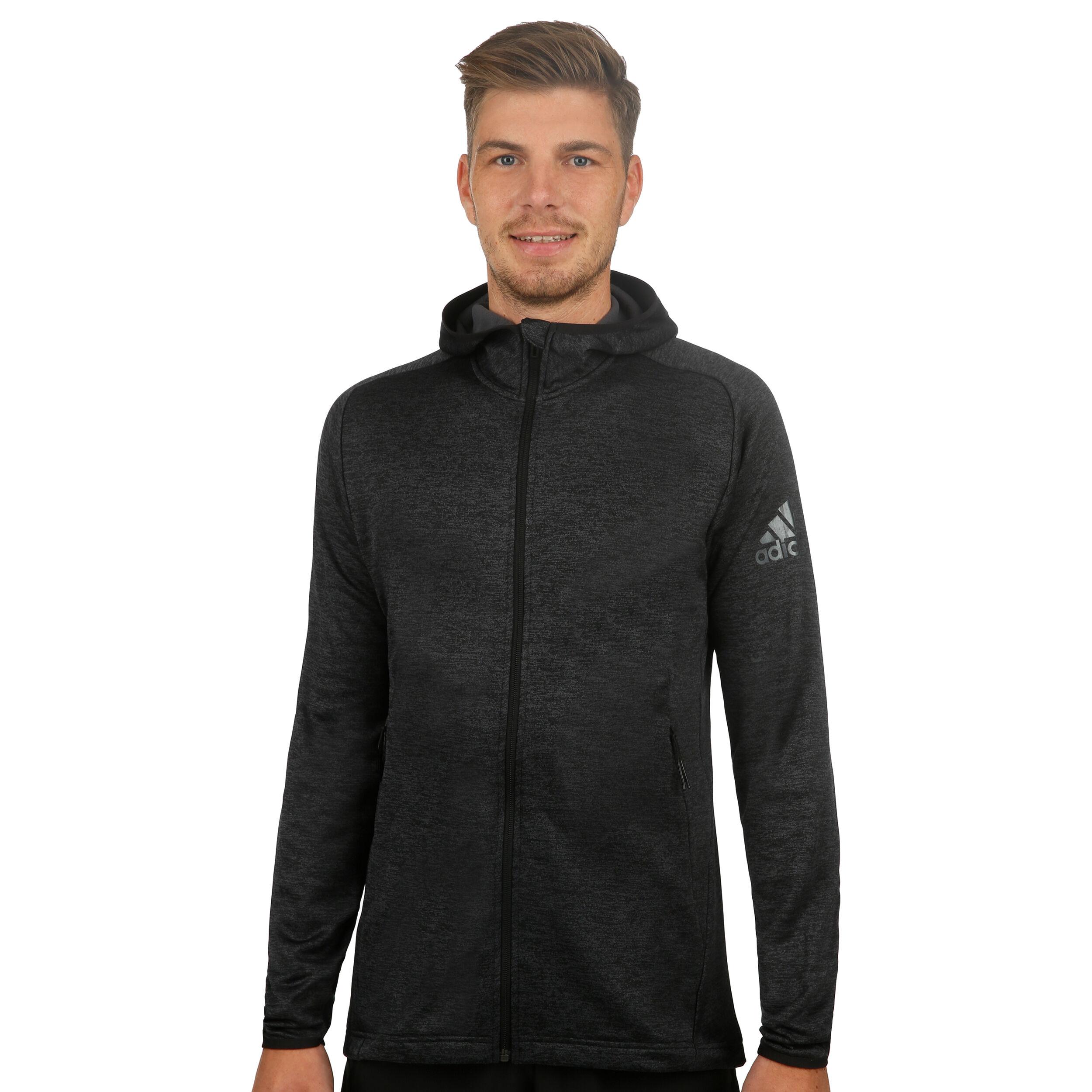 adidas FreeLift Climawarm Kapuzenjacke Herren carbon black