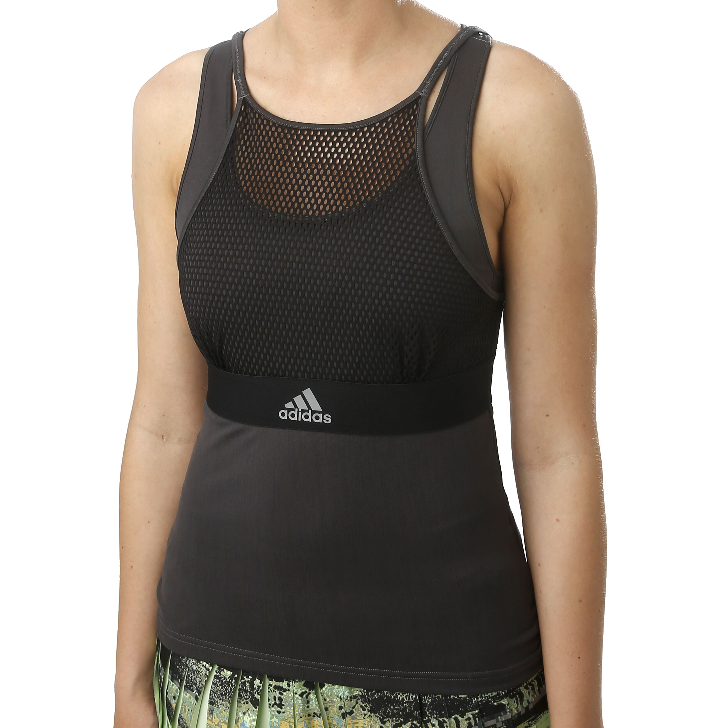 Adidas New York Women's Tank Top, Size L in Black, Size L in